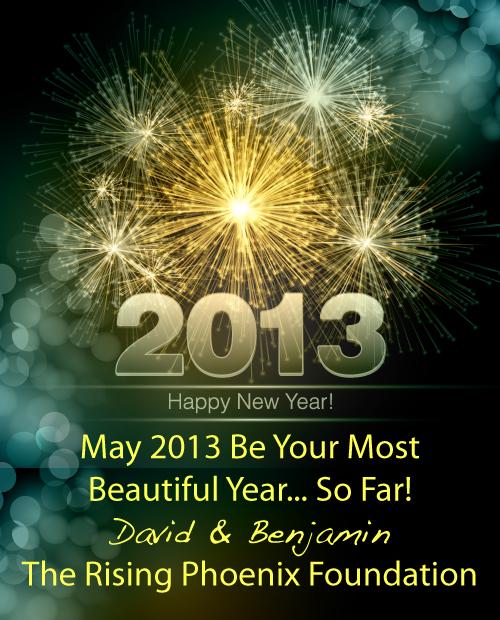 Happy 2013 from David and I